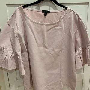 J.Crew NEW! Violet Bell Sleeve Blouse - XL